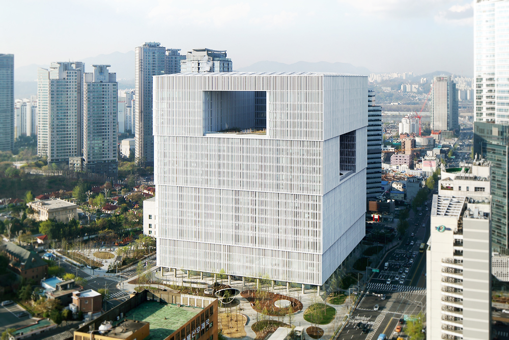 The new headquarters of Amorepacific Group