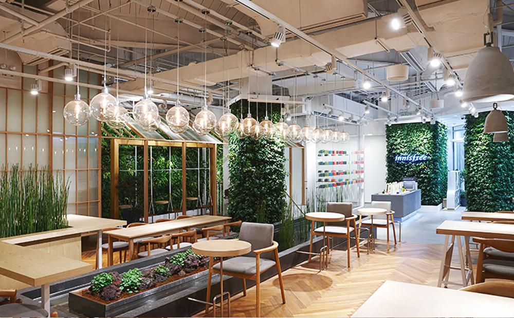 Eco-friendly Interior Design   Amorepacific